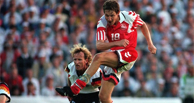 kim vilfort danimarca 1992 campione d'europa germania
