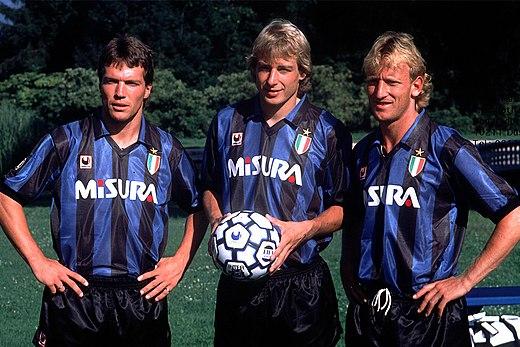 L'Inter dei tedeschi: Matthaus, Klinsmann e Brehme
