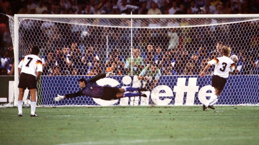 Brehme goal finale Mondiale 1990