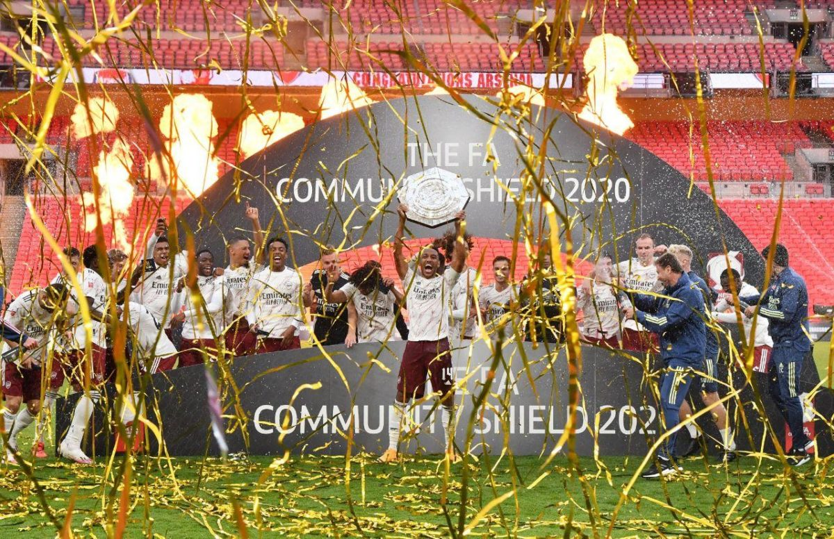 Arsenal community shield Liverpool