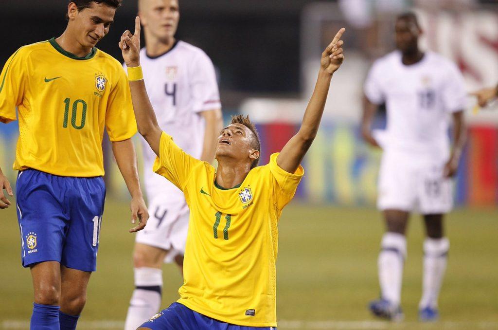 primo goal neymar brasile