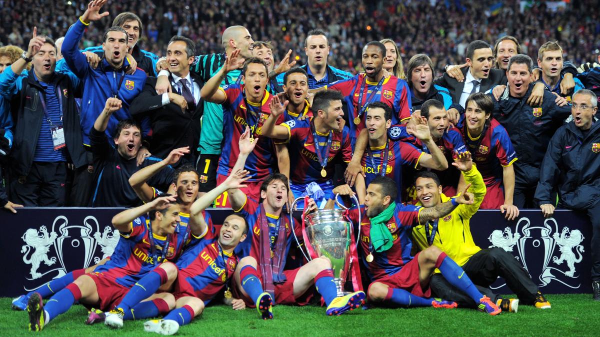 Barcellona del tiki taka anno