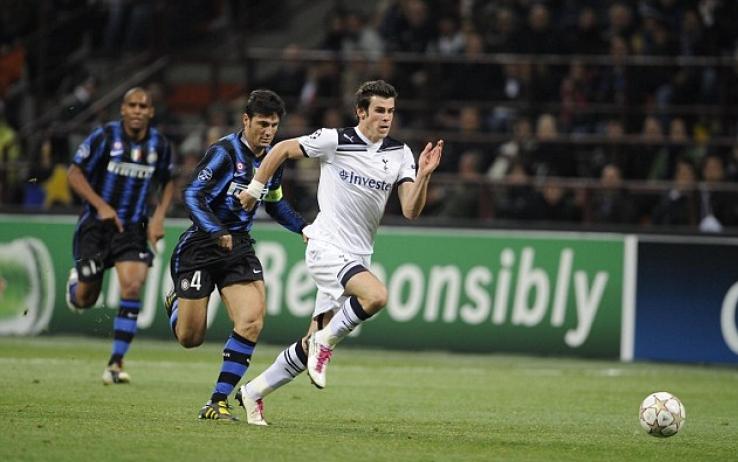 Bale contro l'Inter