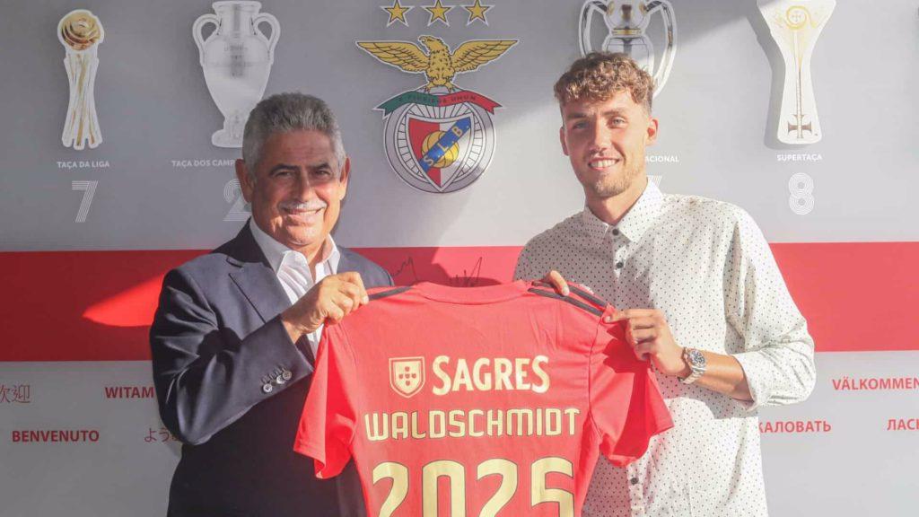 presentazione di Waldschmidt al Benfica
