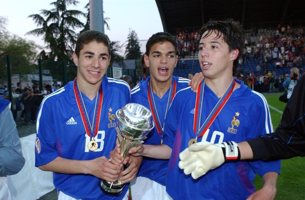 Giovani talenti all'Europeo U-17 del 2004. Francia 2004, Ben Arfa vince l'europeo U-17 insieme ai giovanissimi Benzema e Nasri