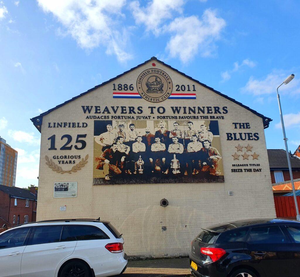Belfast, Irlanda del Nord, settembre 2020 - Foto Ilaria Ciangola