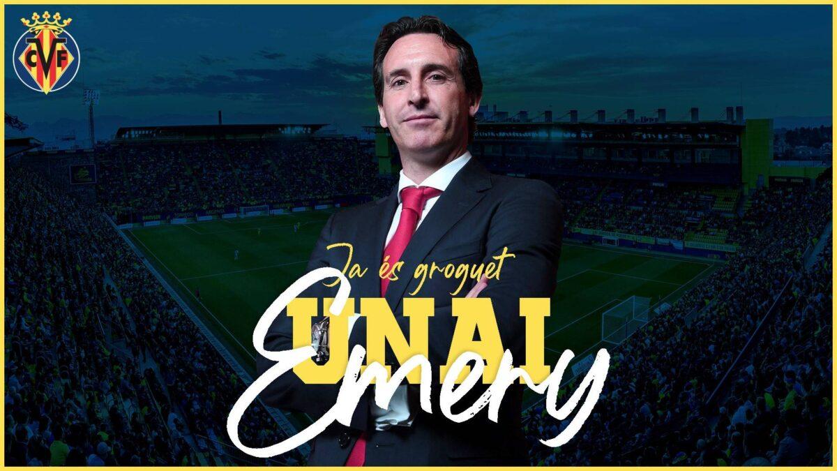emery allenatore Villarreal