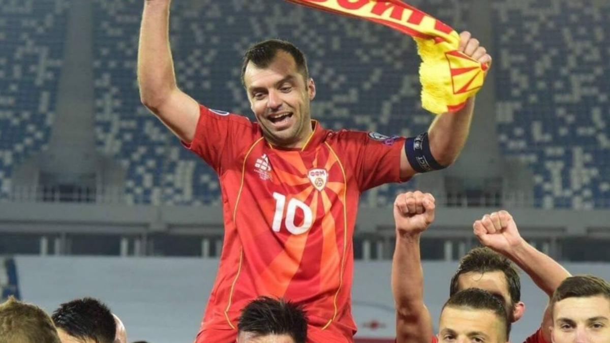 Ehi Nazionale, sono il tuo eroe e ti porto ad Euro 2020! (Pandev, Macedonia del Nord)