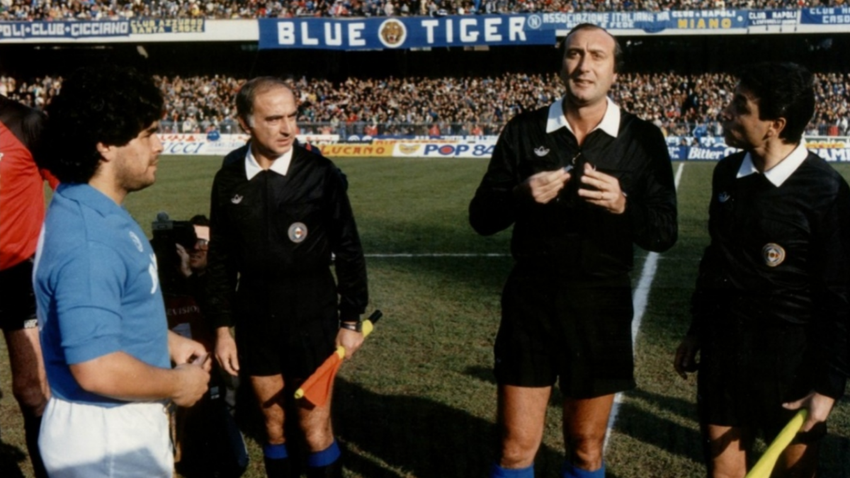 Salvatore Lombardo arbitro Marsala