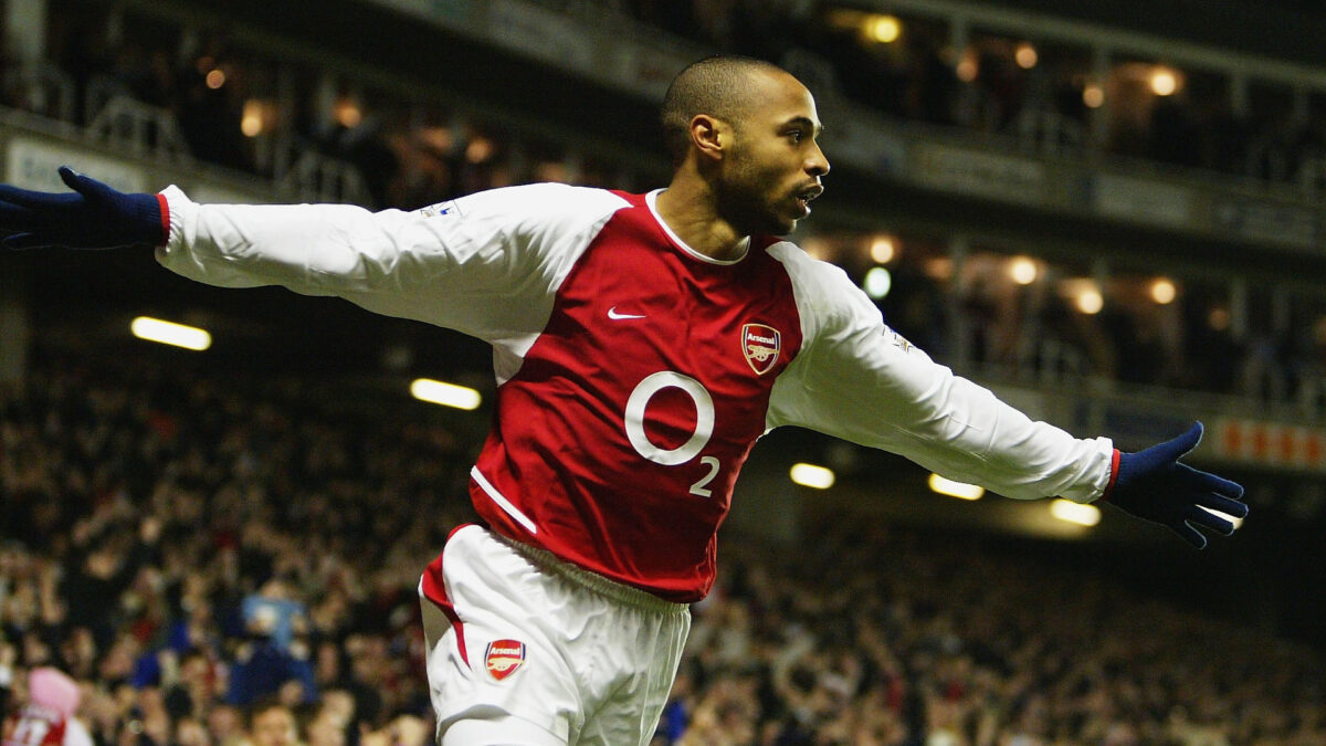 goal più belli Thierry Henry Arsenal