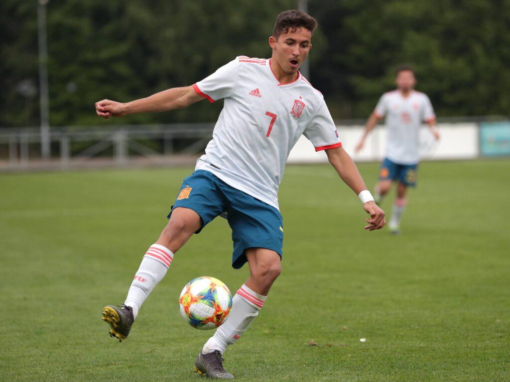 Yéremy Pino agli Europei U17 con la Spagna