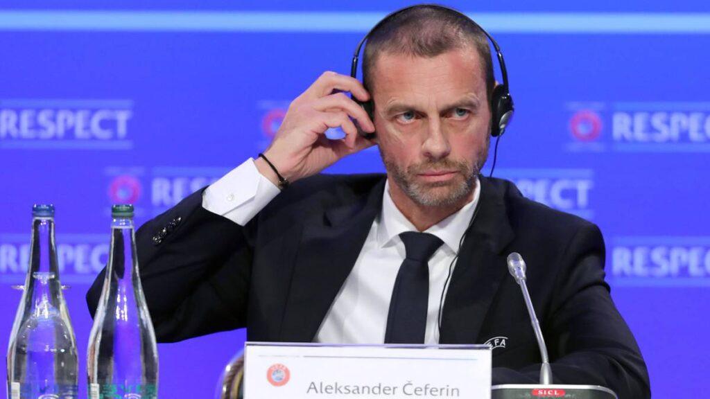 Il presidente dell'UEFA, lo sloveno Ceferin conference league
