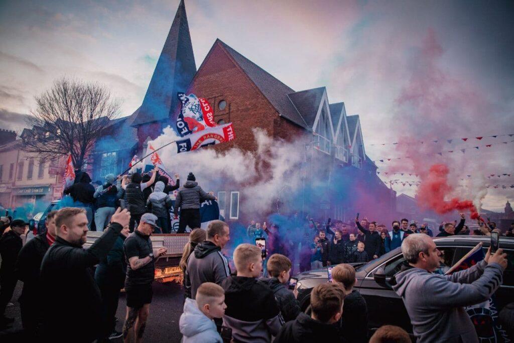 Rangers Glasgow tifosi