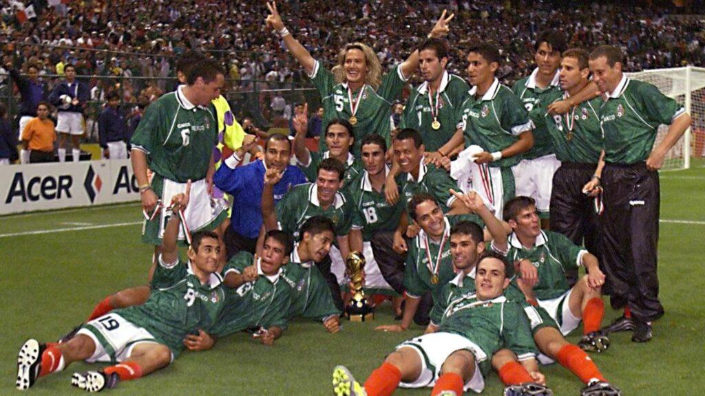 Blanco messico confederations cup 1999
