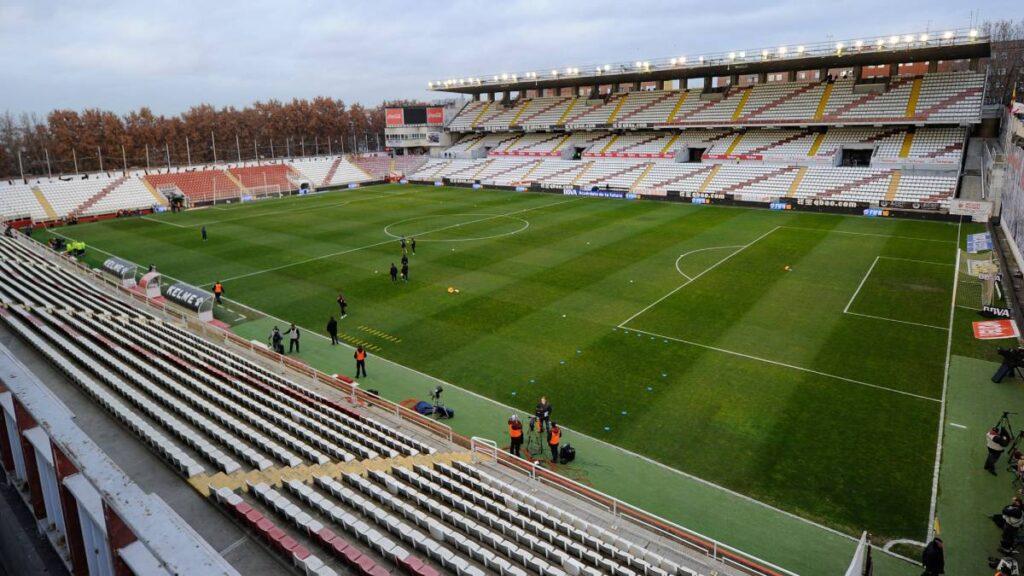 El Estadio de Vallecas, casa del Rayo Vallecano. ( Fonte: AS.com)
